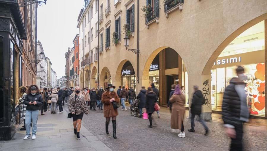 Padua, Itália, 7 de fevereiro de 2021