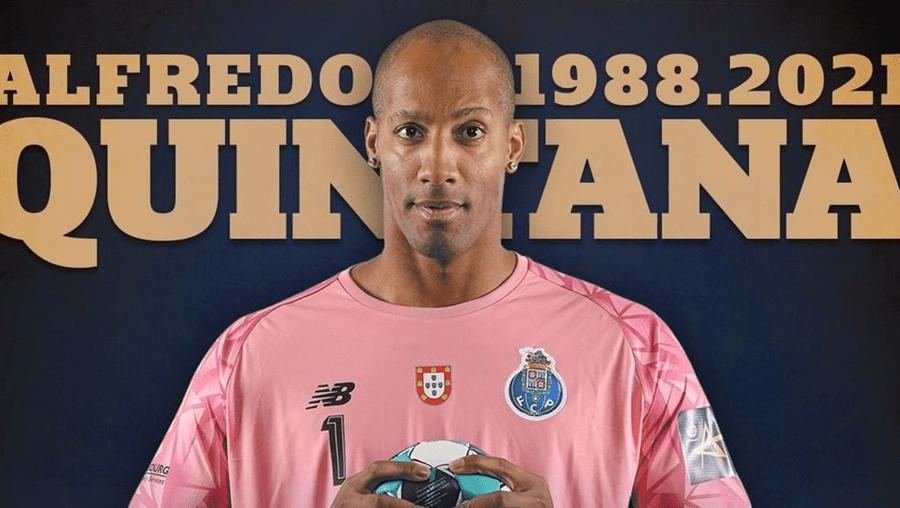 'Um verdadeiro Dragão': a mensagem de despedida do FC Porto a Quintana