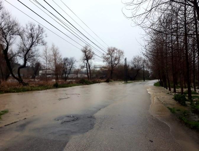 Em Oliveira do Bairro verificaram-se inundações