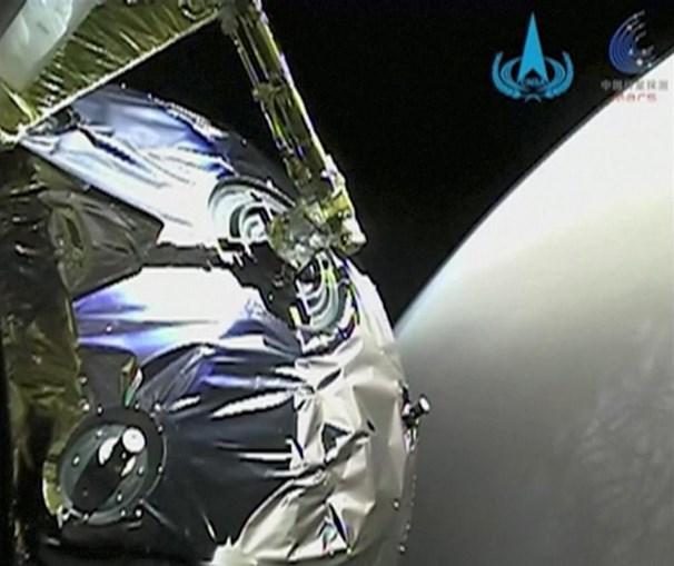 Sonda chinesa enviou para a Terra primeiras imagens recolhidas da órbita de Marte