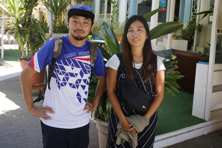 Casal japonês Kataoka e Rikiya estão retidos em Cabo Verde desde fevereiro de 2020
