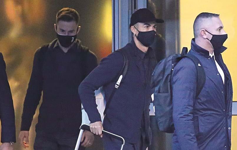 Cristiano Ronaldo chegou ontem ao Porto ao fim do dia. Antes da viagem, usou as redes sociais para deixar um recado