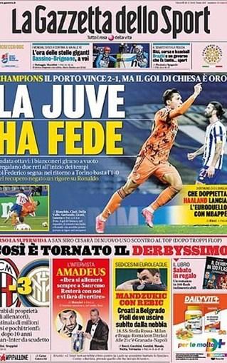 Jornais italianos arrasam prestação de Ronaldo