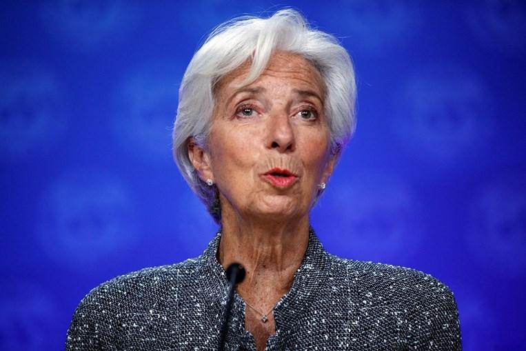Christine Lagarde preside ao BCE