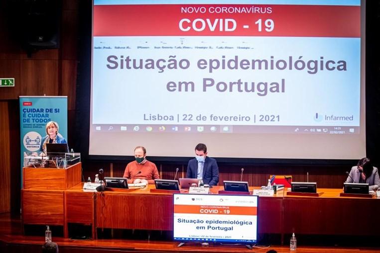 Reunião de atualização da situação epidemiológica em Portugal