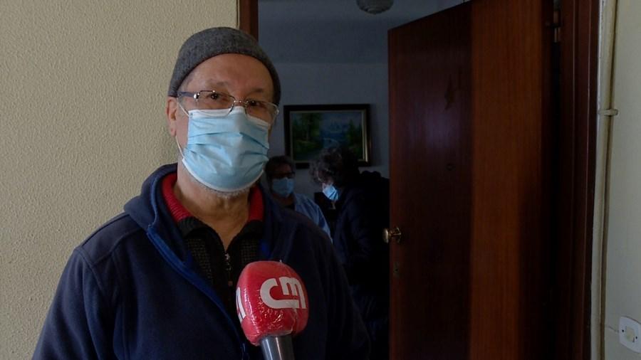 Morador do bairro, José Joaquim Ramos não esconde a revolta