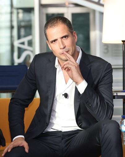 O humorista Ricardo Araújo Pereira