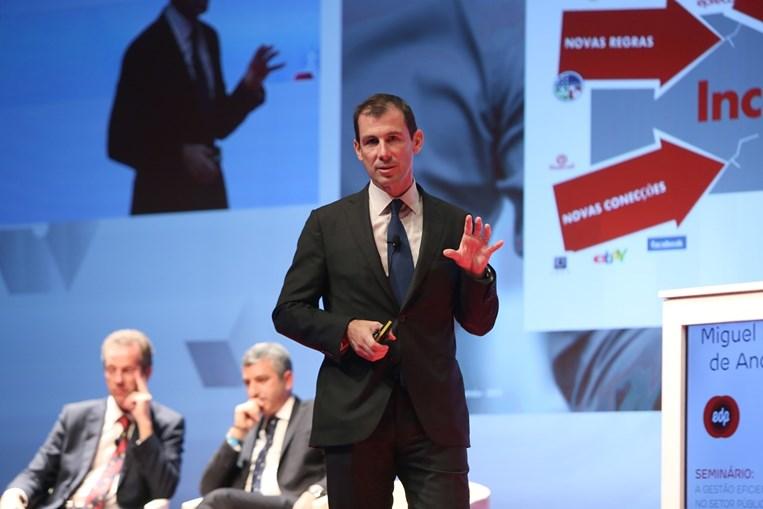 Miguel Stilwell, presidente-executivo da EDP