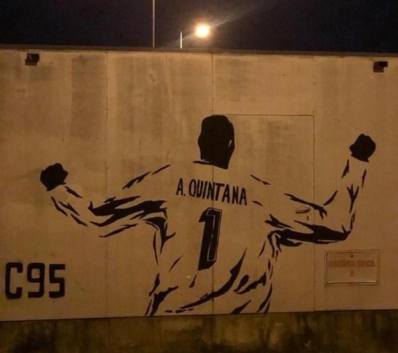 FC Porto faz homenagem a Alfredo Quintana no Estádio do Dragão