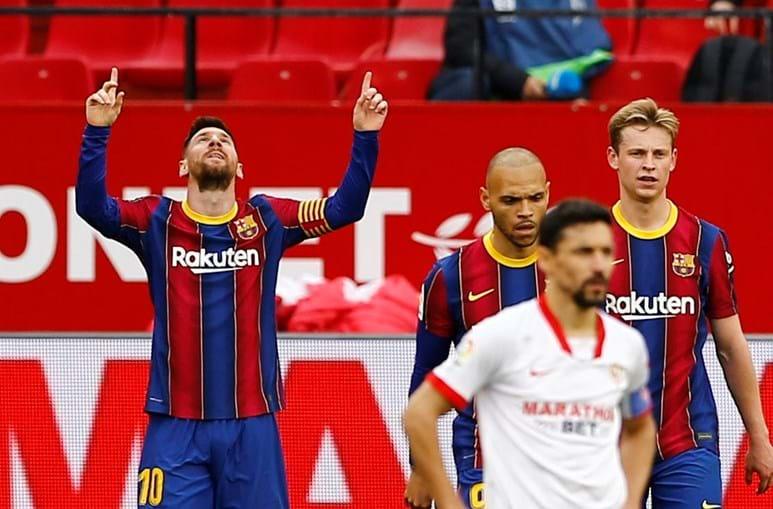 Barcelona vence em Sevilha e sobe ao provisoriamente ao segundo lugar da liga espanhola