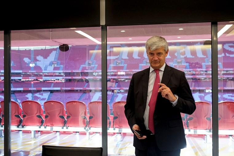 Domingos Soares Oliveira, vogal da SAD do Benfica, tem o pelouro da área financeira