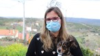Cadela salva casal e filho bebé da morte