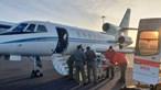 Força Aérea transporta bebé recém-nascida dos Açores para o continente