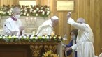 Papa Francisco realiza missa na catedral da capital iraquiana