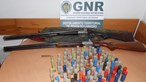 Homem suspeito de violência doméstica em Amares tinha bala de guerra