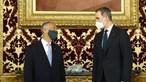 Marcelo Rebelo de Sousa recebido pelo rei de Espanha em Madrid. Veja as imagens