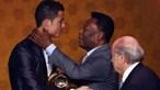 Pelé reage após Cristiano Ronaldo bater 'o seu' recorde de golos: 'O meu único lamento é não te dar um abraço'