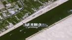 Bloqueio no Canal do Suez deverá durar semanas. Saiba como é que o incidente arrisca agravar a crise económica global
