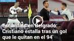 'Escândalo' e 'golo fantasma': Jogo entre Portugal e Sérvia é destaque na imprensa internacional. Veja as imagens