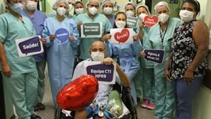 Roberto Moura da Silva, o doente que passou 377 dias internado no hospital