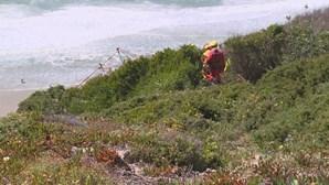 Idoso resgatado de falésia em Sintra