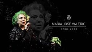 """""""A sua voz vai soar eternamente nos nossos corações"""": A homenagem do Sporting a Maria José Valério"""