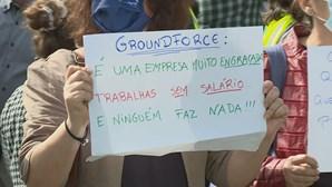 Trabalhadores da Groundforce em novo protesto no aeroporto de Lisboa