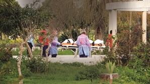 Lar ilegal esconde morte de idosa à família