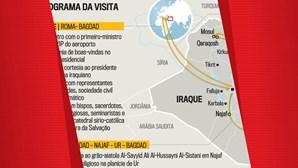Programa da visita do papa ao Iraque