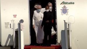 As primeiras imagens do Papa Francisco em solo iraquiano