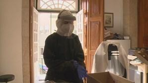 Funcionários da Câmara Municipal de Viseu fazem teste à Covid-19 através de amostras de saliva