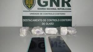 Dois homens apanhados em flagrante com 2500 doses de cocaína no Rio Guadiana