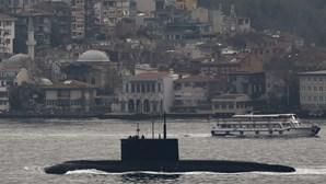 Exclusivo: Marinha e EUA vigiam submarino de ataque russo ao largo da costa portuguesa