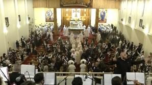 Papa Francisco celebra missa na catedral na capital iraquiana, Bagdade. Veja em direto
