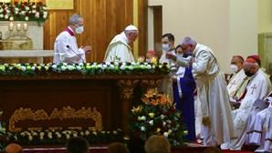 Papa celebra em Bagdade a primeira missa pública no Iraque