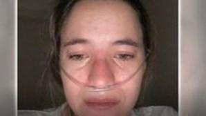 """""""Não quero morrer, quero viver!"""": Constança tem 24 anos e sofre de uma doença rara incurável"""