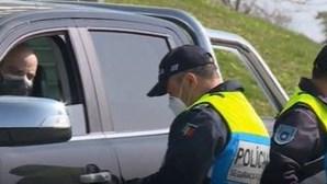 PSP realiza operação de fiscalização à entrada de Viseu