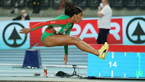 Patrícia Mamona sagra-se campeã europeia de triplo salto em pista coberta