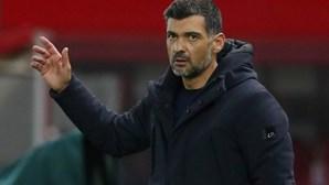 """Conceição diz que dragão vai """"com tudo para conseguir a qualificação"""" frente à Juventus"""