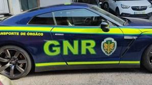 GNR tem nova 'bomba' personalizada para transportar orgãos