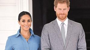Meghan Markle partilha a primeira foto da filha Lilibet Diana com a família real britânica