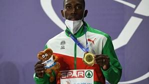 Pedro Pichardo na corrida ao ouro no triplo salto dos Jogos Olímpicos