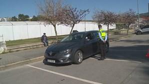 Ação de fiscalização rodoviária devido à Covid-19 multa cinco pessoas por circularem sem fiscalização em Mirandela
