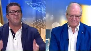 """""""Quase andaram à porrada"""": Fernando Mendes e Jorge Amaral discutem expulsões de Sérgio Conceição e Paulo Sérgio"""