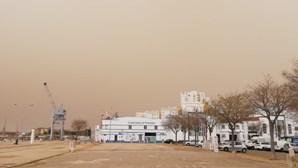 Poeira vinda de África já provoca efeitos no sul do País e atinge Algarve
