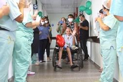 Roberto deu entrada no hospital em janeiro de 2020