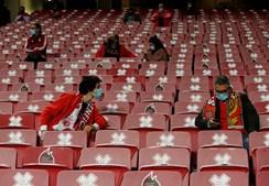 Adeptos só entraram na Luz esta época num jogo da Liga Europa