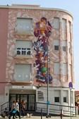 Carlos do Carmo eternizado em mural pintado na freguesia de Alvalade em Lisboa