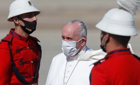 Papa Francisco em visita ao Iraque