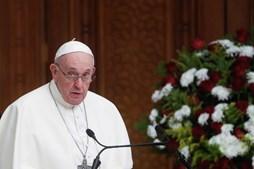 Papa Francisco no primeiro discurso no Iraque